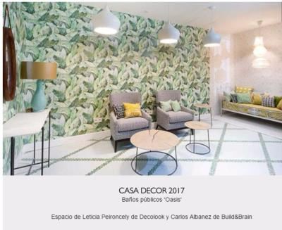 Revista Interiores Casa Decor 2017