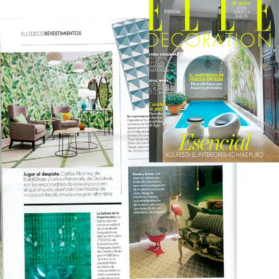 Revista Elle Decoration Julio