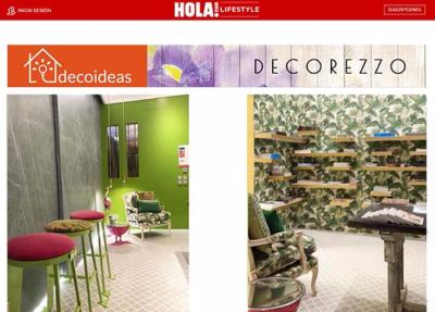 Tropical Living en la revista Hola